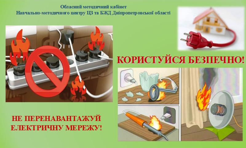 Правила користування електротехнікою