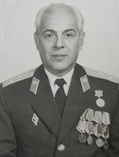 Полковник Саркисов Л.М