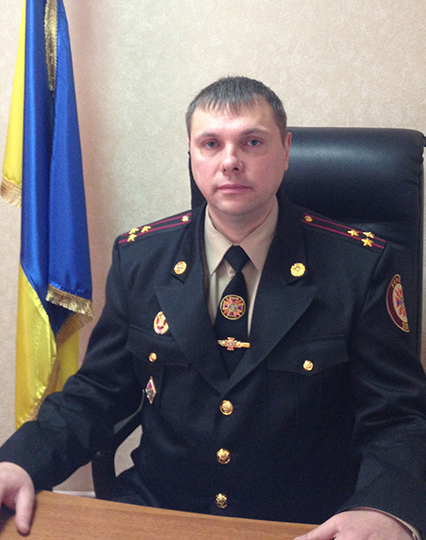 Полковник Оксень В.М